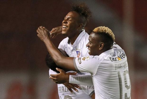 LDU de Quito: 2ª colocada do Campeonato Equatoriano - Entra diretamente na fase de grupos.