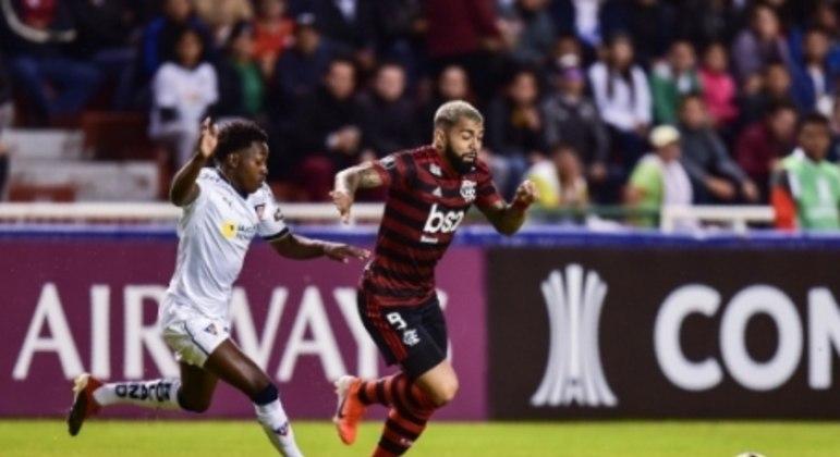 LDU x Flamengo Gabigol