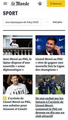 Le Monde destaca pontos da entrevista coletiva de Messi em sua apresentação