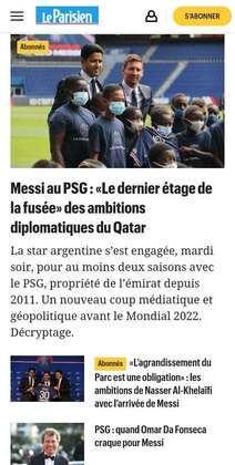 Le Parisien comenta as ambições de Nasser Al-Khelaifi em montar um elenco forte com o PSG
