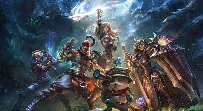 O melhor jogo de eSports foi League Of Legends