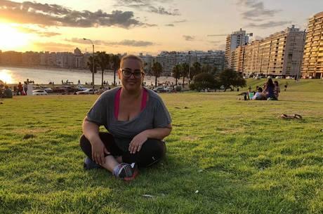 Leandra mora em Montevidéu há 3 anos
