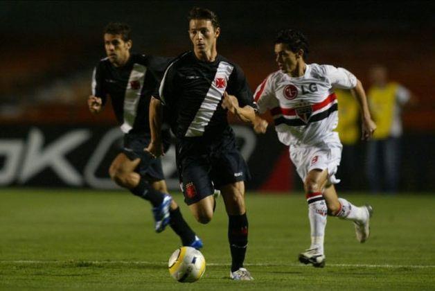 Leandro Amaral: deixou o Vasco para o Fluminense após uma ação judicial, mas acabou tendo que voltar ao Cruz-Maltino.
