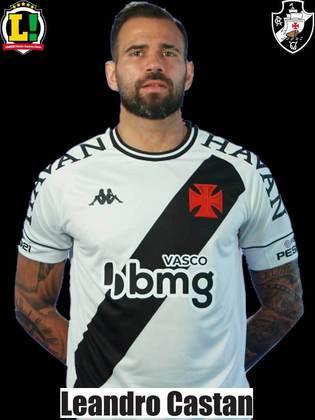 Leandro Castan - 5,5 - O defensor fazia um jogo regular até sentir dores musculares e sair de campo no final do primeiro tempo.