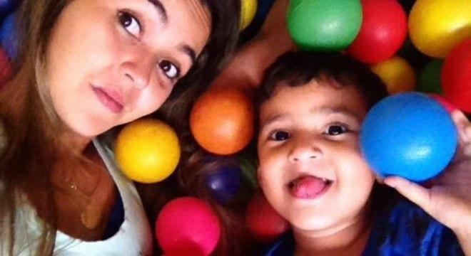 Menino Leandro e a mãe foram atropelados pela Polícia Militar
