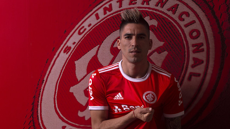 Leandro Fernández - 29 anos - Internacional - Atacante - O Independiente está interessado em repatriar o atacante Leandro Fernández, encostado no Internacional.