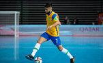 Leandro Lino (Ala) - Companheiro de Rodrigo, Leozinho e Djony no Sorocaba, o ala de 26 anos já foi considerado o terceiro melhor jogador sub-23 do mundo no Futsal Awards.