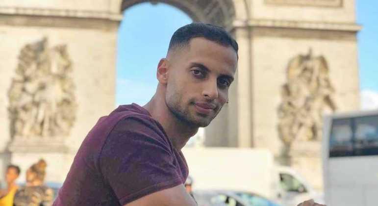 Leandro Otávio de Souza, aprovado para cursar o mestrado na França, aguarda o visto