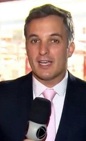 Leandro Stoliar, repórter da Record