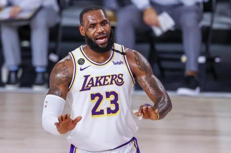 LeBron foi campeão da NBA com o Lakers