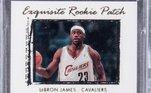Um card de LeBron James em seu primeiro ano na NBA foi comprado por R$ 28 milhões. O objeto, de quando lembro ainda jogava no Cleveland Cavaliers, está autografado e é tido como um dos mais raros do mundo. A identidade do comprador ainda não foi revelada