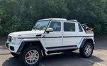 Com apenas 99 carros construídos, a caminhonete é uma Mercedes muito rara. Com espaço para toda família, o automóvel deve ser um dos favoritos do craque para passear pela Califórnia