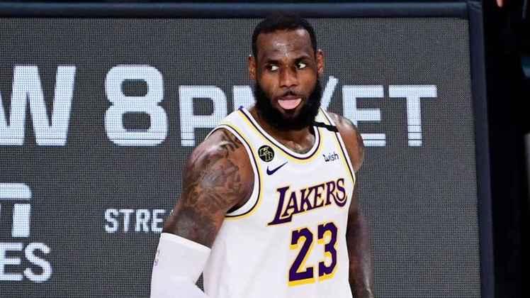 LeBron James: o craque do basquete Los Angeles Lakers, da NBA, declarou voto para Biden e sua vice, Kamala Harris.