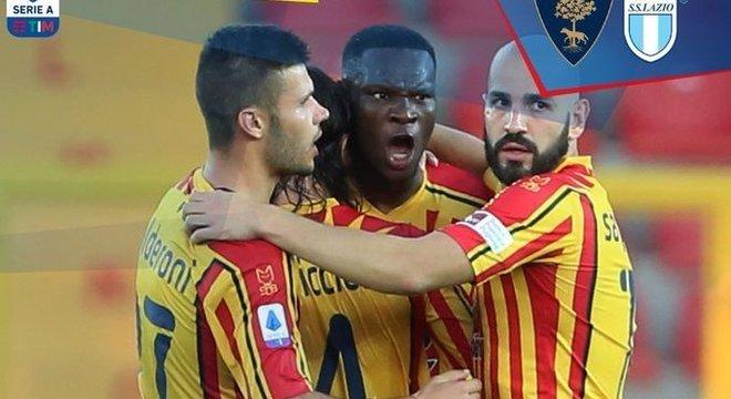 Lecce 2 X 1 Lazio, o alívio pela fuga temporária da zona de queda