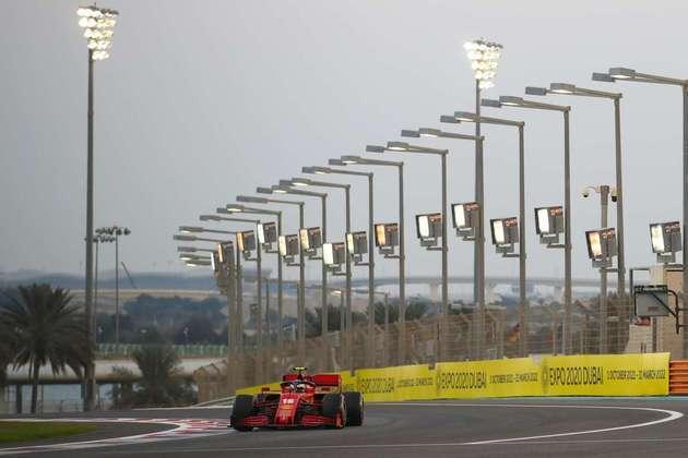 Leclerc está na briga pelo top-5 da temporada.