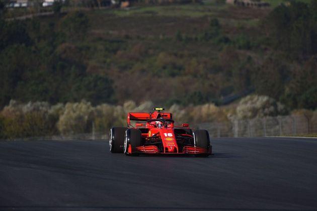 Leclerc está na quinta posição no campeonato.