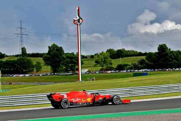 Leclerc, porém, foi apenas o 11º colocado