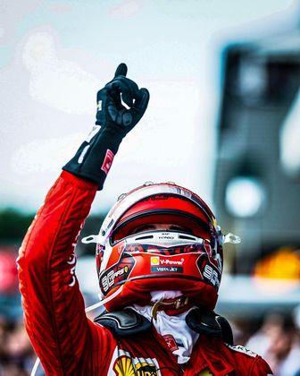 Com esse carro, Leclerc conquistou suas duas vitórias na F1, nos grandes prêmios da Itália e Bélgica, ambas em 2019