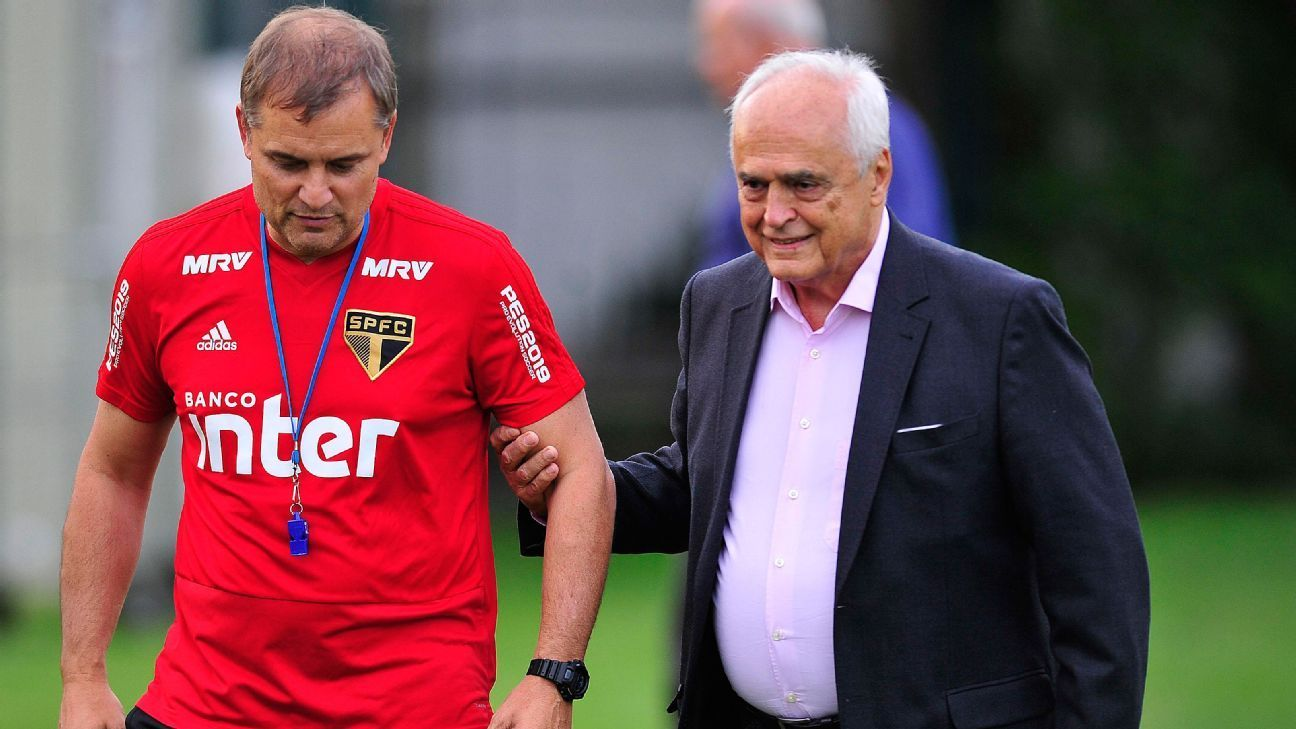 O inseguro Leco contratou, deu força e, depois, despachou o uruguaio Aguirre