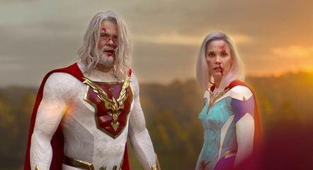Personagens de O Legado são sombrios, apesar de seus uniformes supercoloridos e exagerados