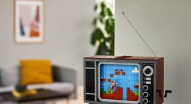Lego anuncia conjunto de blocos do NES e Super Mario