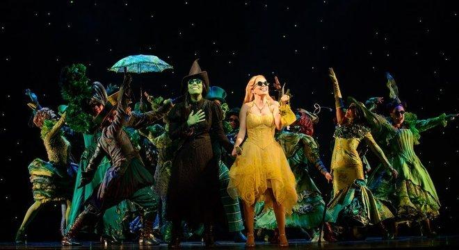 'Wicked', foi um dos musicais montados recentemente no Brasil