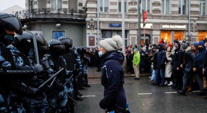 Medida é uma reação aos protestos de apoiadores de Alexanei Navalny