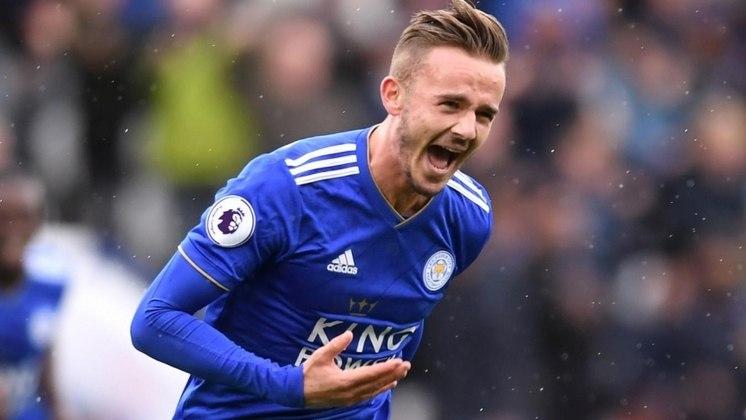 Leicester City: James Maddison (24 anos) - Posição: meia  - Valor de mercado: 55 milhões de euros