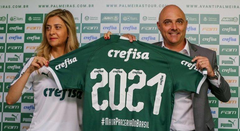Mesmo apoiando, oferecendo bônus, a derrota do Palmeiras no Mundial beneficiou Leila