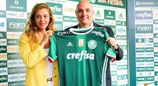 A harmonia entre Leila e Galiotte deve garantir o poder no Palmeiras até 2024
