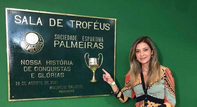 A oposição do Palmeiras sabe: Leila tem mais do que garantida a vitória para presidente