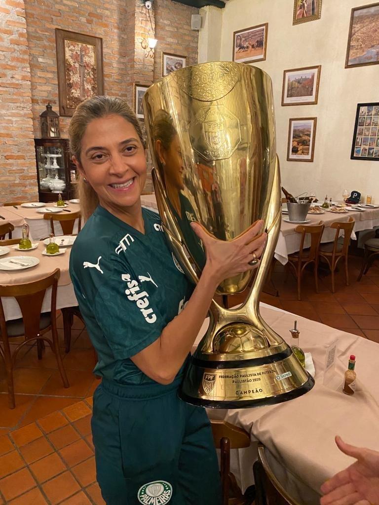 Não há dúvida alguma no Palmeiras. Leila será presidente. Não há rivais à altura
