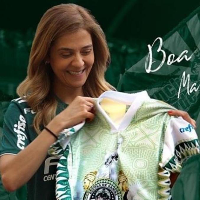 Leila Pereira. Apoio financeiro ao Carnaval da Mancha Verde. Sem segredos
