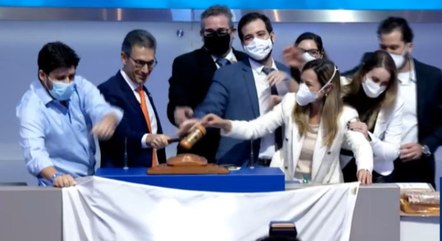 Zema celebrou leilão e prometeu mais privatizações