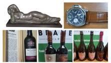 Obras de arte, relógios de luxo e vinhos da Lava Jato vão a leilão