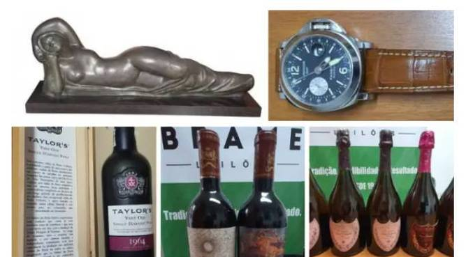 """A escultura """"A Mulher Deitada"""", o relógio IWC Chronograph e vinhos que vão a leilão"""