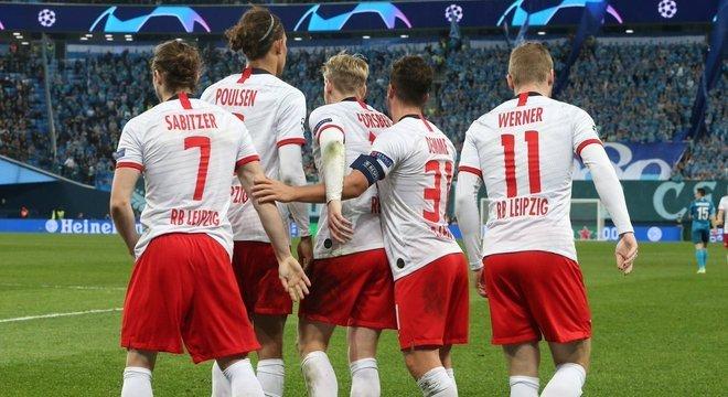 Zenit 0 X 2 RB Leipzig
