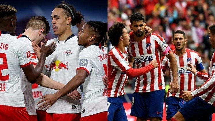 Leipzig e Atlético de Madrid se enfrentam na próxima quinta, às 16 (horário de Brasília), no estádio José Alvalade, em Lisboa. O duelo terá transmissão do canal TNT, Facebook do Esporte Interativo e EI Plus.