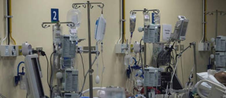 Na capital mineira, 91% dos leitos de terapia intensiva estão ocupados