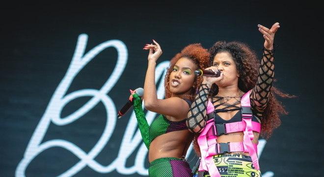 Lellê brilha e divide palco com Blaya na abertura do Rock in Rio