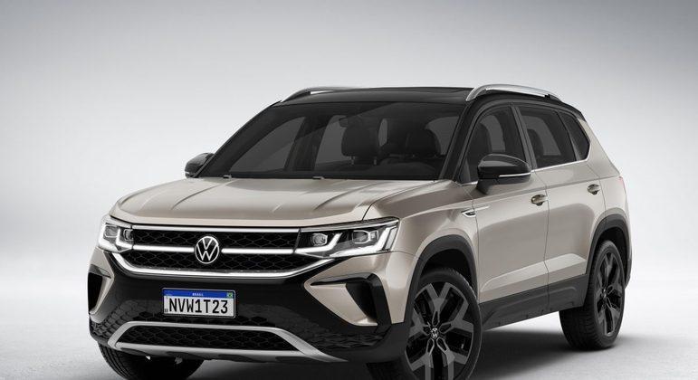 Lembra que há pouco falamos do Volkswagen Taos? Pois bem. Ele deve custar cerca de R$ 140 mil e conta com 6 marchas e central multimídia de 10 polegadas.