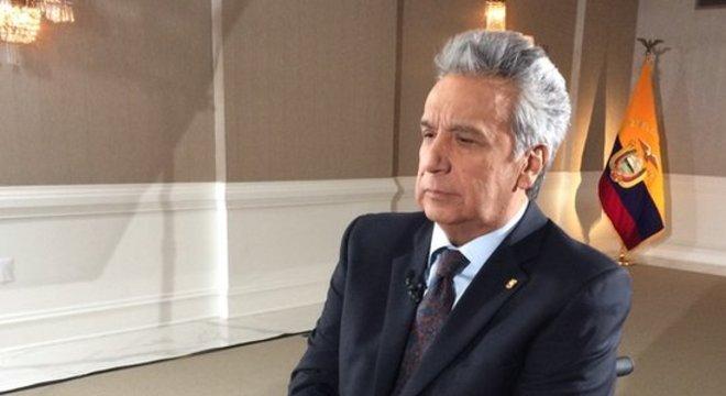 Lenín Moreno falou com a BBC News em Washington
