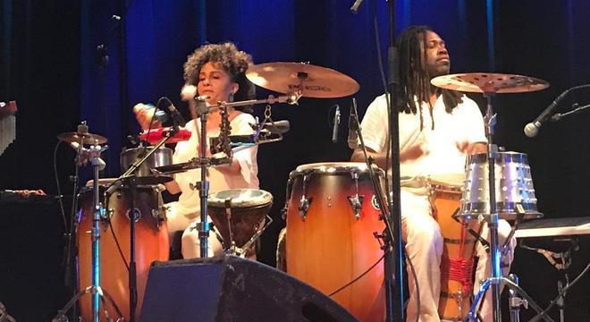 Lenynha Oliveira e Rudson Daniel no Amsterdam Roots Festival