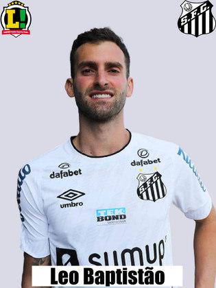 Léo Baptistão - 7,0 - O melhor do Santos. Atacou, ajudou na marcação e poderia ter feito seu gol na estreia.