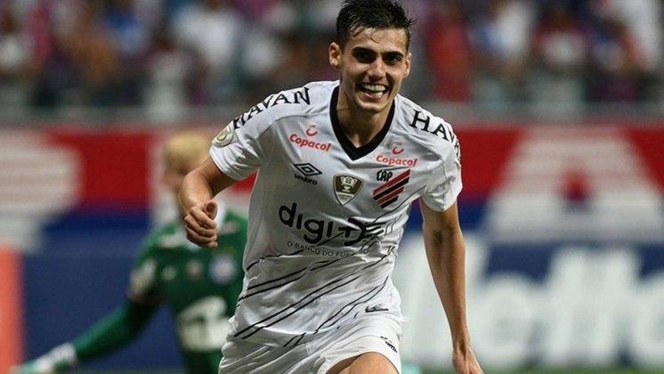 Léo Cittadini - O meia de 27 anos do Athletico-PR pode atuar em mais de uma posição no meio-campo e tem valor de mercado avaliado em 2 milhões de euros (segundo o site Transfermarkt).
