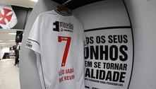 Atacante do Vasco faz homenagem a MC Kevin na final da Taça Rio