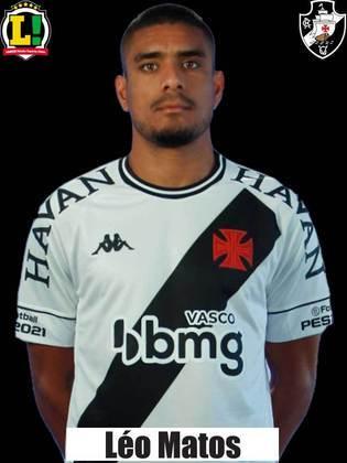 Léo Matos - 5,5 - O lateral demonstrou mais tranquilidade para tocar a bola e ficou mais preso na marcação. No fim, cansou e a jogada do gol foi no seu setor.