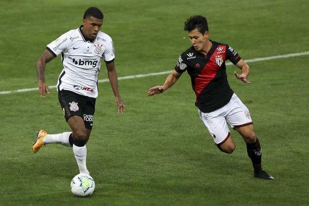 Léo Natel - Clube: Corinthians - Posição: Atacante - Idade: 24 anos - Jogos completados no Brasileirão 2021: 3 jogos - Situação no clube: Perdeu espaço com o novo treinador e má fase