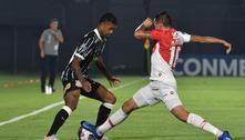 Corinthians só empata com River-PAR na estreia da Sul-Americana