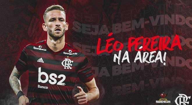 A 'arte' com Léo Pereira no Flamengo estava pronta. Desde a semana passada